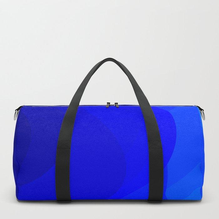 Blue Waves Duffle Bag