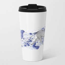 Blossom Run Metal Travel Mug