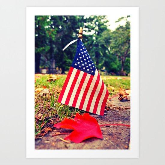 American Autumn Art Print