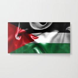 Jordan Flag Metal Print