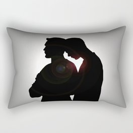 then listen to me now Rectangular Pillow