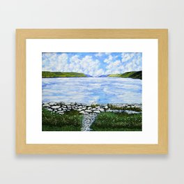 Hemlock Lake Framed Art Print