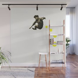 How High Can You Jump? Wall Mural