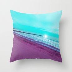 SEA ABSTRACTION Throw Pillow