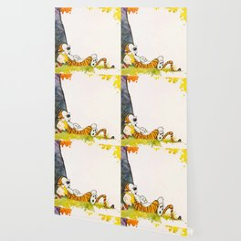 calvin hobbes sleep Wallpaper