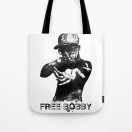 Free Bobby Shmurda Lithograph Tote Bag