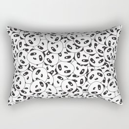Pandamonium (Patterns Please Series #2) Rectangular Pillow