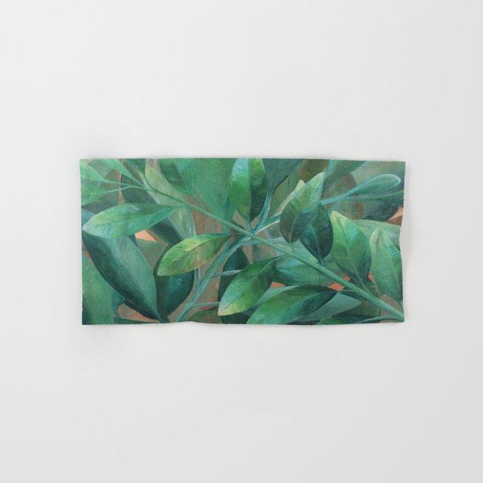Leafy Greens Hand & Bath Towel
