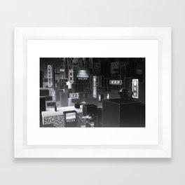 真偽の確認 - Reality Check Framed Art Print