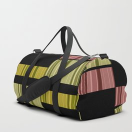 An abstract geometric pattern . Alex 5. Duffle Bag