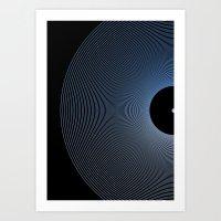 record Art Prints featuring Record by Karolis Butenas