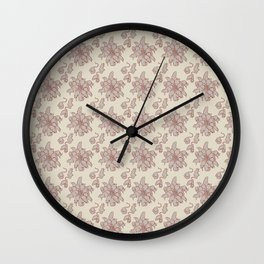 Ratking Flowers Wall Clock