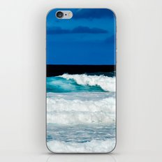 Blue Ocean Waves iPhone & iPod Skin