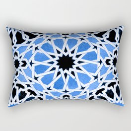 Moroccan Zellige pattern Rectangular Pillow