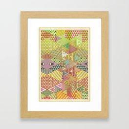 A FARCE / PATTERN SERIES 003 Framed Art Print