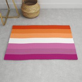 Butch Lesbian Flag Rug