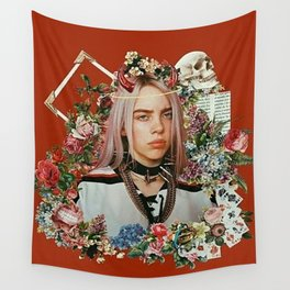 Billie Eilish Graphic Artwork Wall Tapestry
