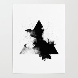 Smoke Triangle Poster