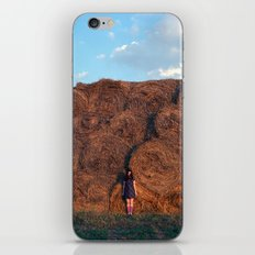 heyloft sunset iPhone & iPod Skin