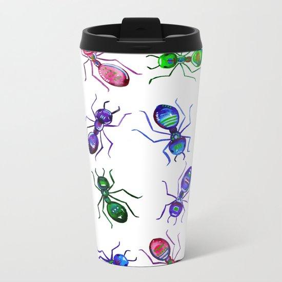 Ants Metal Travel Mug