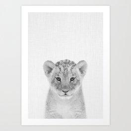 Baby Lion Art Print