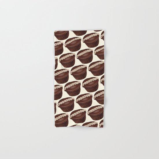 Cupcake Pattern Hand & Bath Towel
