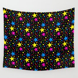 Colorful Stars Wall Tapestry