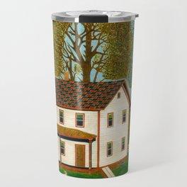 Farmhouse Decor - Vintage Painting Travel Mug