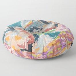 Praia da Ursa. Sintra Floor Pillow