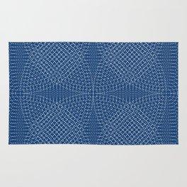 Komon circular pattern Rug