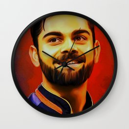 Virat Digital Art Wall Clock