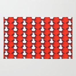 Penguin Knit Rug
