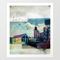 The Rooftop #4 Art Print
