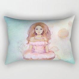 Sea Jelly Rectangular Pillow
