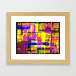 Mazed Framed Art Print