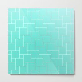 MINT BRICKS Metal Print