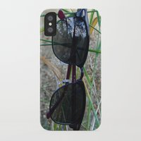 sunglasses iPhone & iPod Cases featuring sunglasses by Naya Joyce