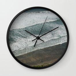 Waves on the Beach Wall Clock