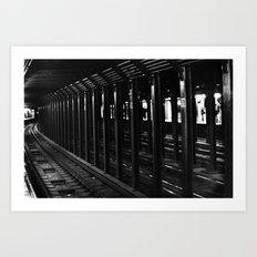 59th Street Subway Station No. 2 Art Print