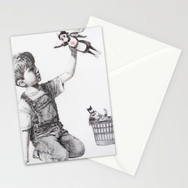 Game Changer Banksy Stationery Cards
