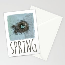 Bird Nest Stationery Cards
