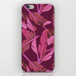 Tropical '17 - Ajaja [Banana Leaves] iPhone Skin