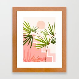 Summer in Belize Framed Art Print