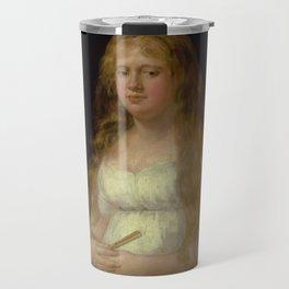 """Francisco Goya """"Josefa de Castilla Portugal y van Asbrock de Garcini"""" Travel Mug"""