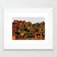 edinburgh Framed Art Prints featuring Edinburgh by dacarrie