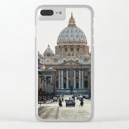 Via della Conciliazione Clear iPhone Case