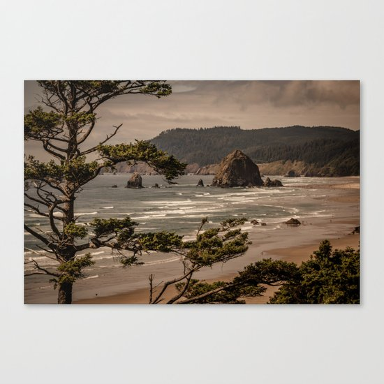 Pacific Summer Canvas Print