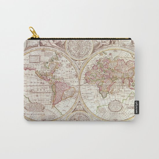 An Accurate Map Carry-All Pouch