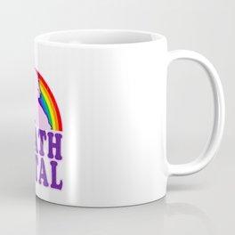 Funny Death Metal Unicorn Rainbow T-Shirt Coffee Mug