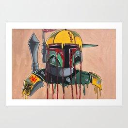 Thugger Fett Art Print